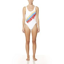 Picture of Tri Logo Gia One Piece White