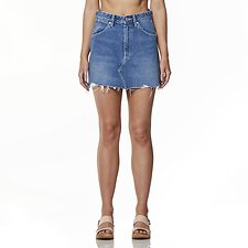 Image of Wrangler Endless Blue Repair Mini Skirt Endless Blue