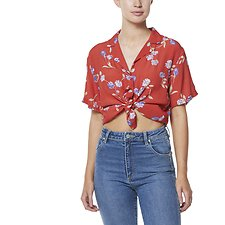 Image of Wrangler Wild Flower Kokomo Shirt Wild Flower