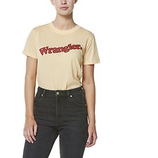 Image of Wrangler Golden Haze Rockaway Tee Golden Haze