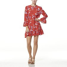 Image of Wrangler Wild Flower Roadhouse Dress Wild Flower
