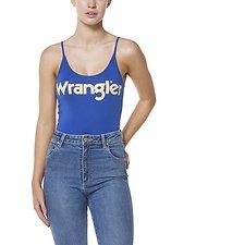 Image of Wrangler Vintage Blue Vintage Bodysuit Vintage Blue