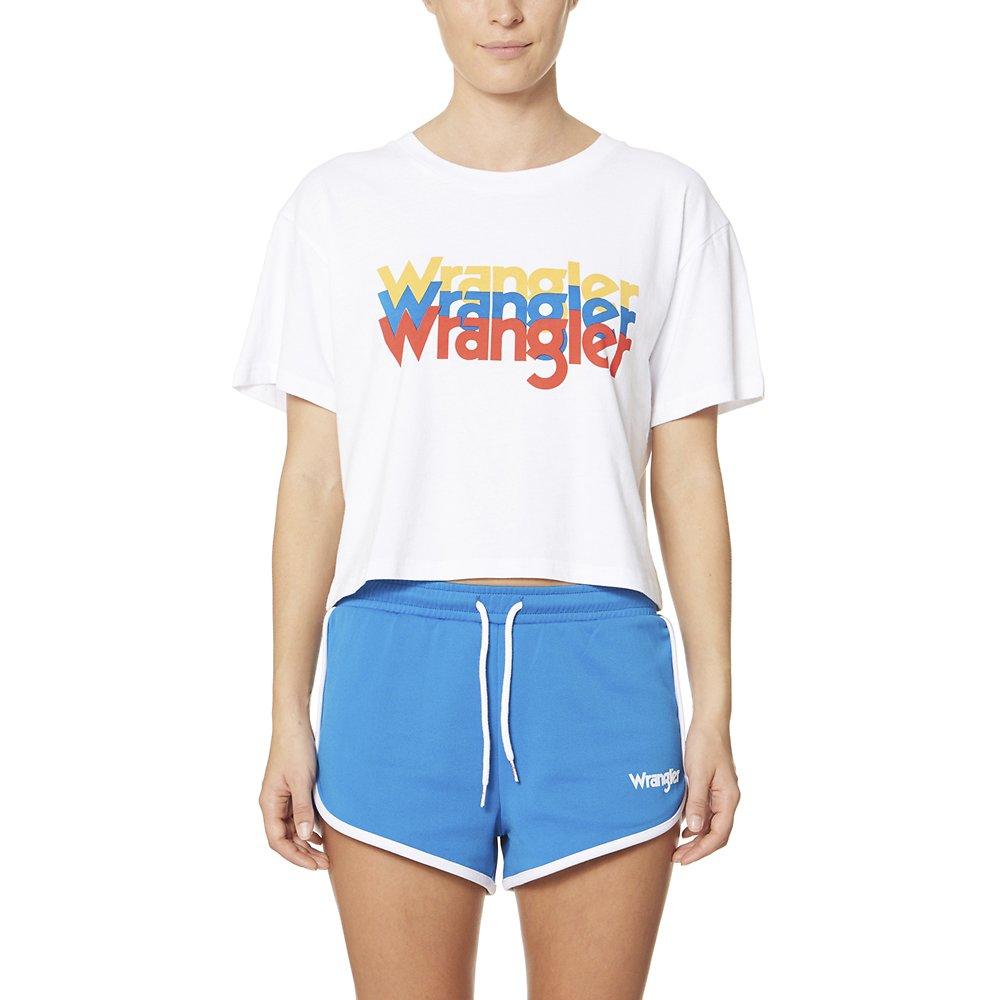 Image of Wrangler White Wrangler Sport Tri Tee White