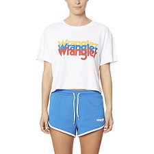 Picture of Wrangler Sport Tri Tee White