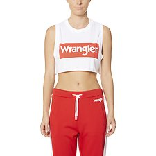 Image of Wrangler White/Red Wrangler Sport Tank White/Red