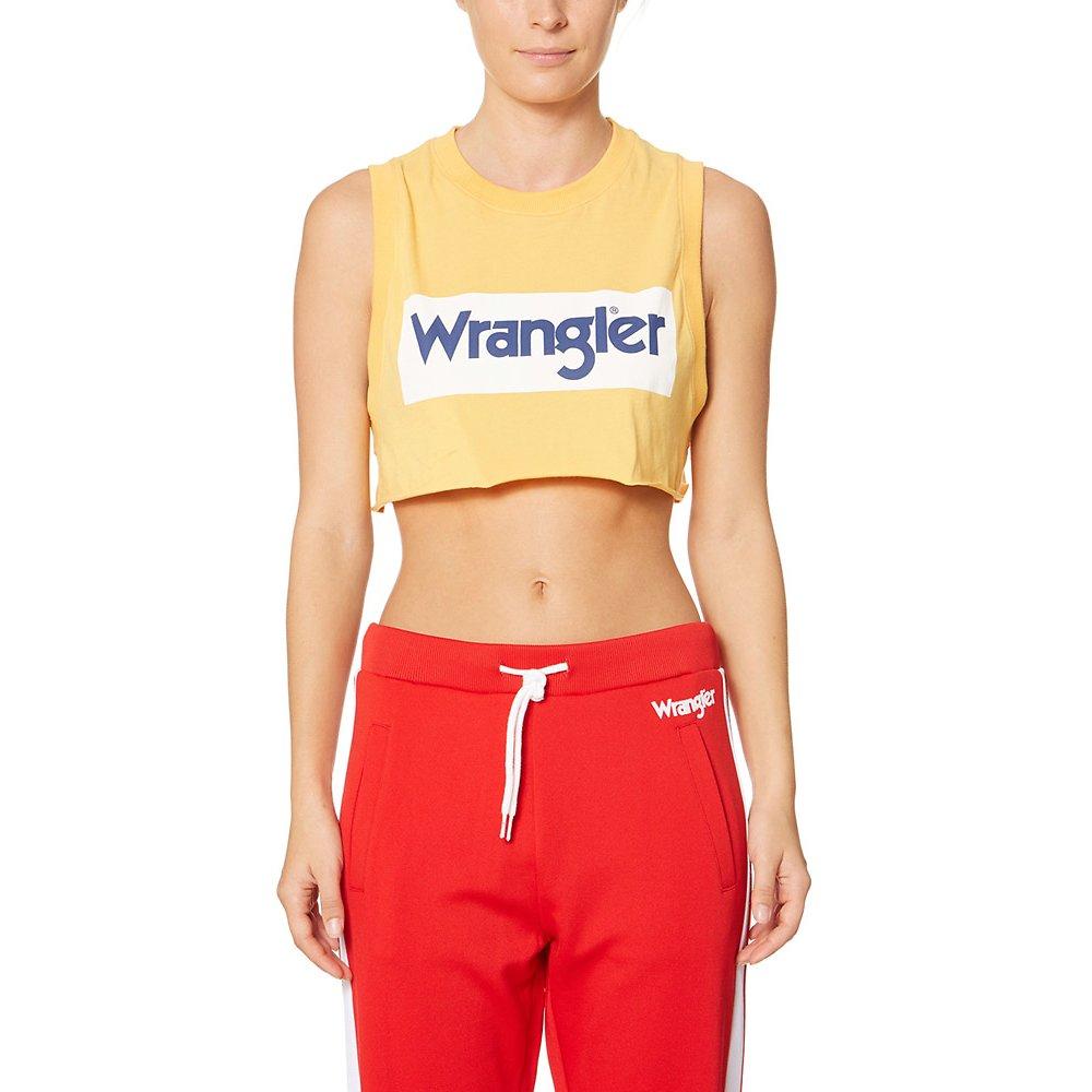 Image of Wrangler Yellow/White Wrangler Sport Tank Yellow/White