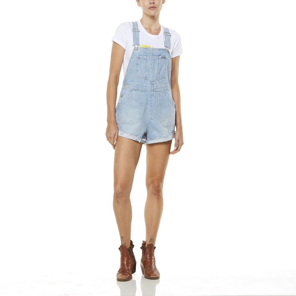Image of Wrangler Stoned Dawn Short Overalls Stoned Dawn