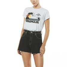Image of Wrangler Vintage Sky It's Better Tee Vintage Sky