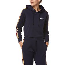 Image of Wrangler Navy Team Track Hoody Team Navy
