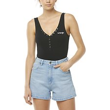 Image of Wrangler Black Jane Bodysuit Black