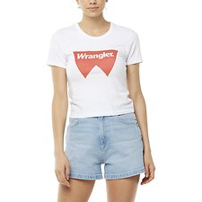 Image of Wrangler White Fangs Tee White