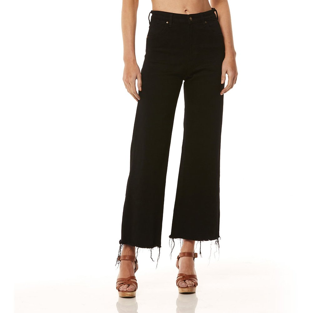 Image of Wrangler Witching Hour Hi Bells Cropped Witching Hour