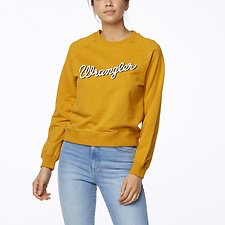 Image of Wrangler Vintage Gold Showdown Crew Vintage Gold
