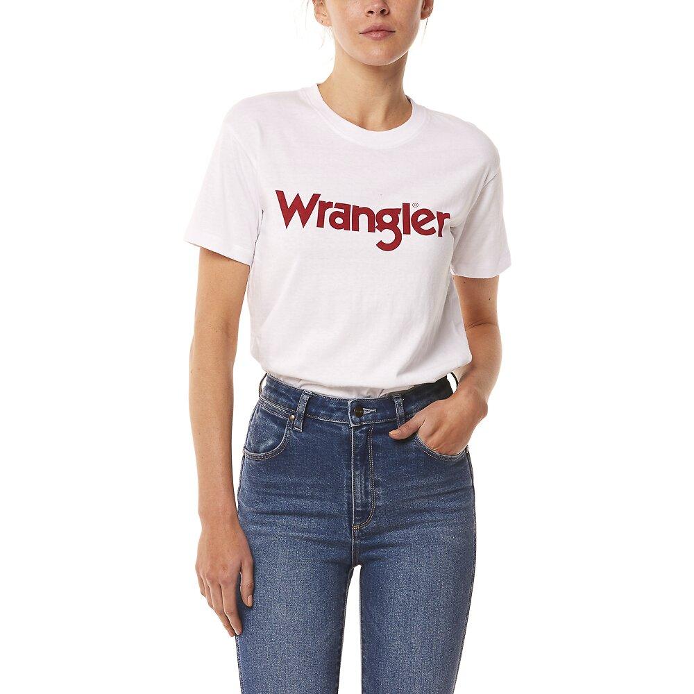 Image of Wrangler White Classic Tee White