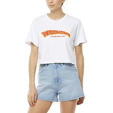 Image of Wrangler White Records Tee White