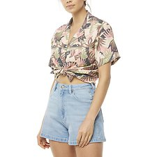 Image of Wrangler Sunset Palms Kokomo Shirt Sunset Palms