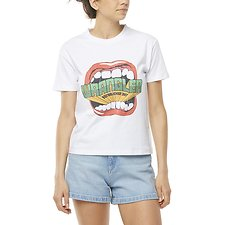 Image of Wrangler White Shout Tee White