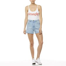 Image of Wrangler White Vintage Bodysuit White
