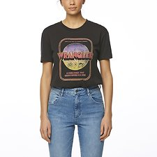 Image of Wrangler Worn Black Ramblin' Tee Worn Black