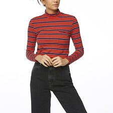 Image of Wrangler Red Stripe Firefly Top Red Stripe