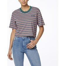 Image of Wrangler Multi Stripe Alexa Tee Multi Stripe
