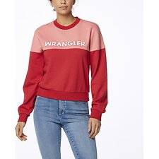 Image of Wrangler Red Pink Romy Fleece Red Pink