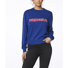 Image of Wrangler Roya Retrographic Sweater Royal