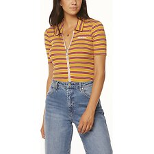 Image of Wrangler Mustard Stripe Bleeker Body Suit Mustard Stripe