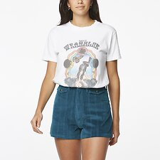 Image of Wrangler White Divine Woman Tee White