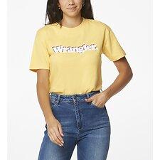 Image of Wrangler Soft Yellow Veda Tee Soft Yellow