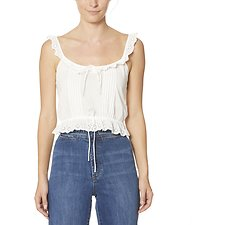 Image of Wrangler Soft White Sweet Jane Cami Soft White