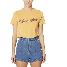 Picture of 70S Logo Tee Vintage Yellow