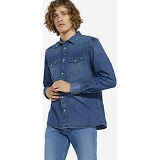 Image of Wrangler 1 Year Wash 27MW Shirt 1 Year Wash